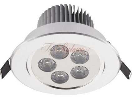 Downlight LED 5 SILVER oprawa punktowa 6822