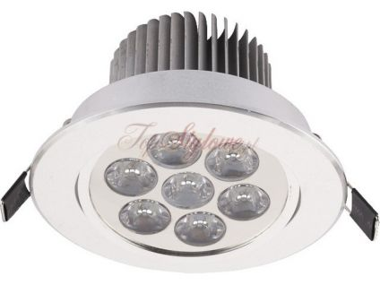 Downlight LED 7 SILVER oprawa punktowa 6823